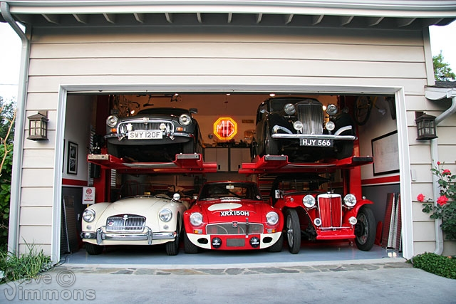 Garage project 1 part ten m g nuts dot com m g for Garage ad agde