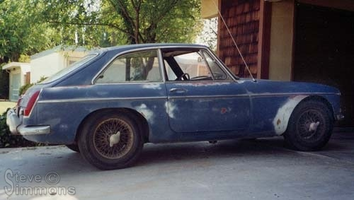 My First 1967 MGB GT - M G  Nuts dot com - M G  Nuts dot com