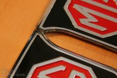NOS MGB Badges